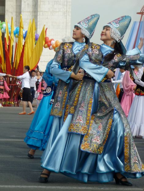 Bishkek's 134th birthday celebration.