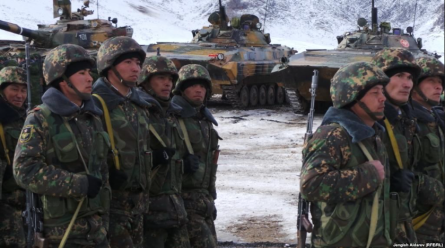Kyrgyzstan sent additional troops to the border after two armed conflicts with Tajik border guards.